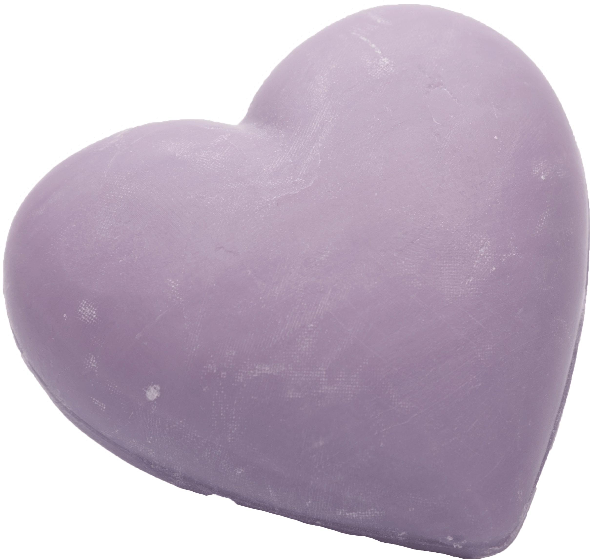 Seife in Herzform 100g - Lavendel