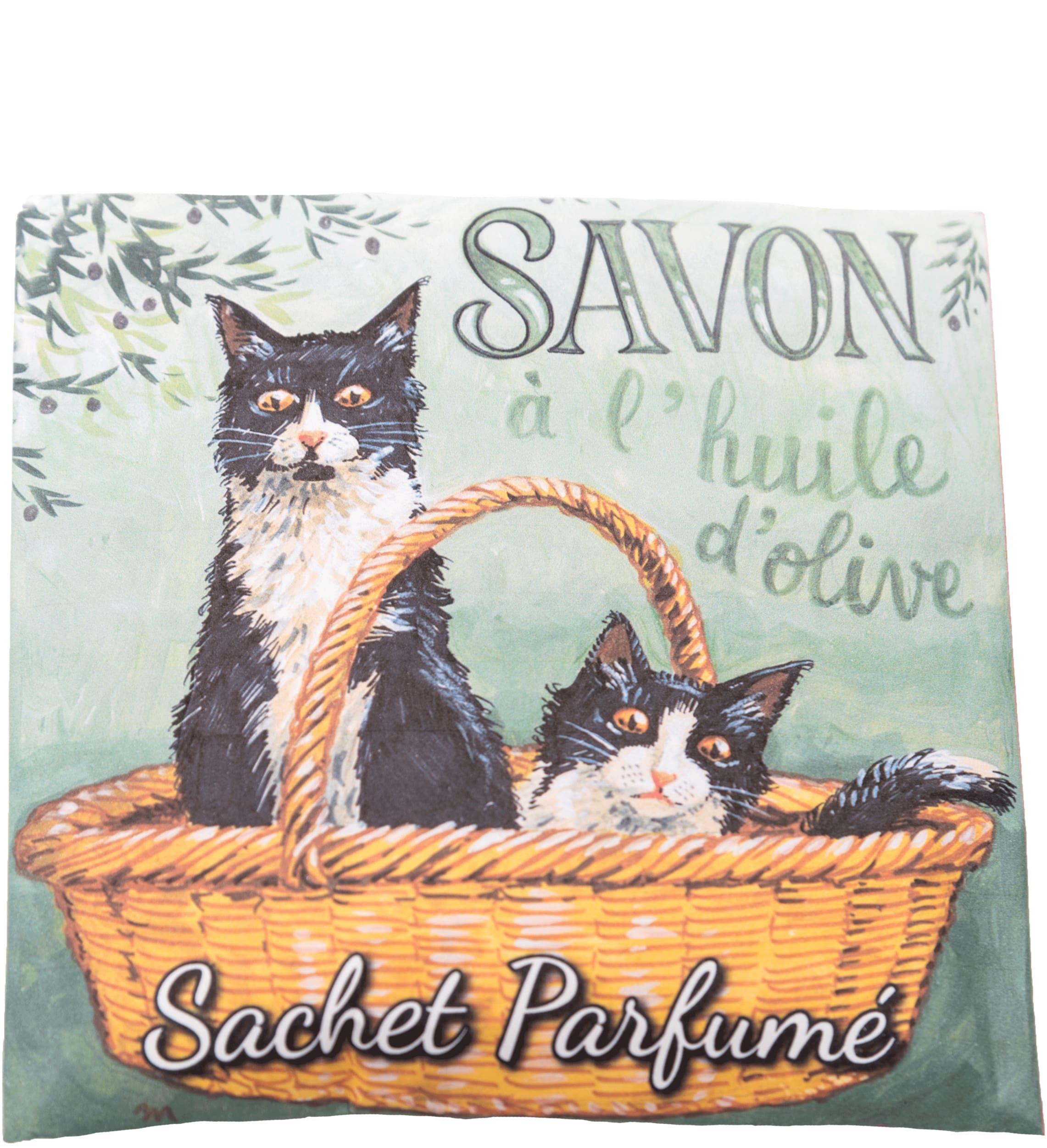 Duftbeutel Katzen schwarz-weiß - Angelique