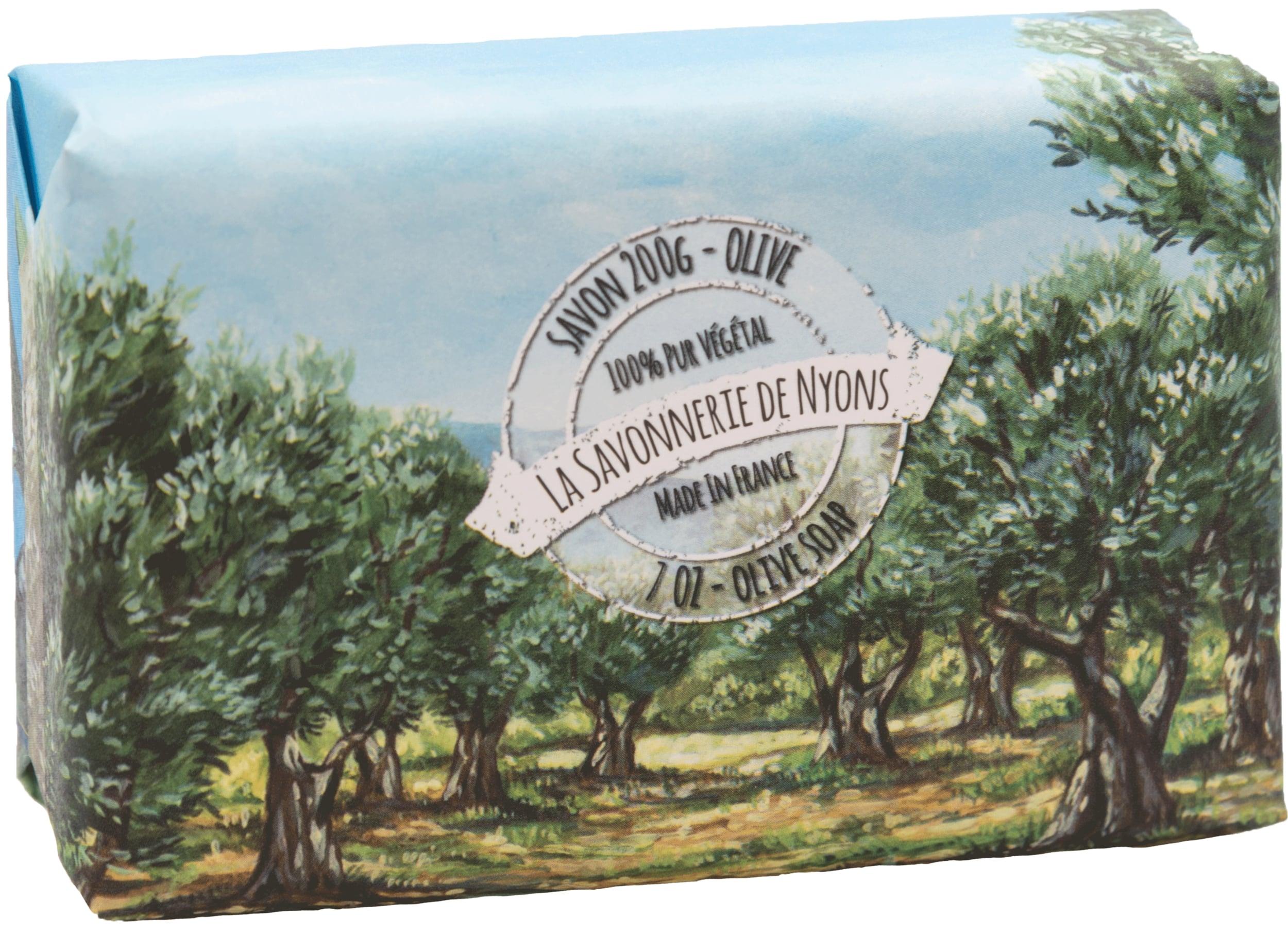 Seifen 200g in Papierverpackung - Oliven