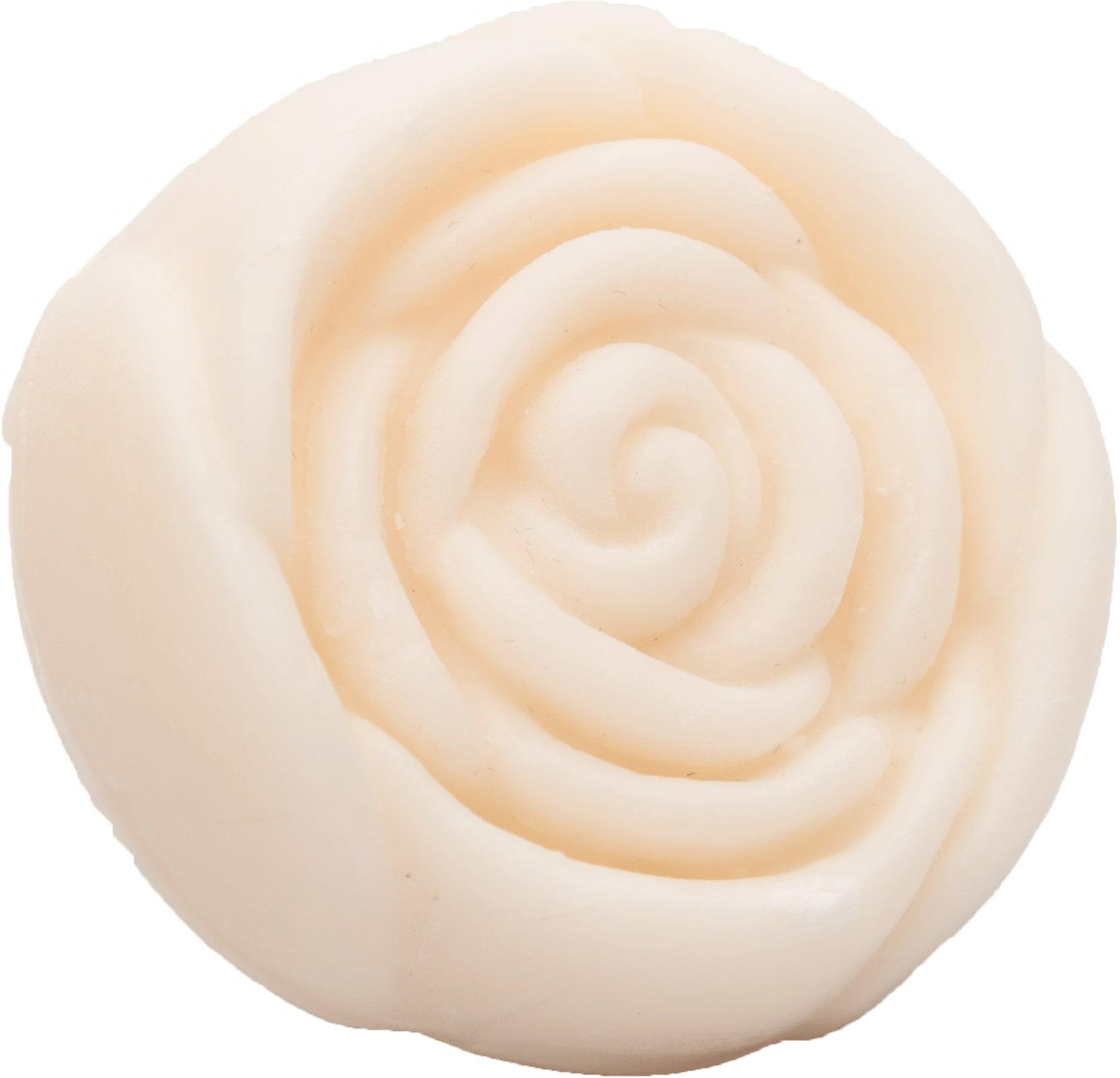 Seife in Rosenform 50g - Baumwollblüten